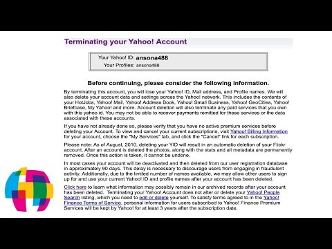 How to Delete Your Yahoo Account - 2016