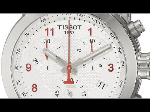 Tissot Women's T0552171103200 PRC 200 Analog Display Swiss Quartz Silver Watch