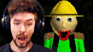 ALONE IN THE WOODS WITH BALDI | Baldi