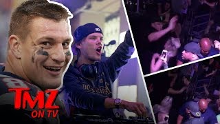Avicii Honored By Gronk