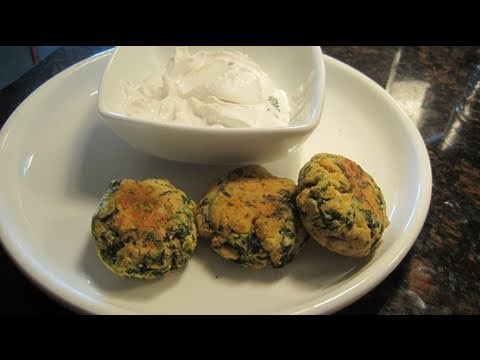 Chana Dal & Spinach Patties