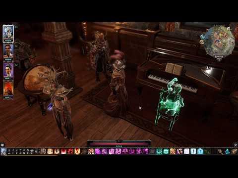 Divinity: Original Sin 2 - Piano music at Ryker's