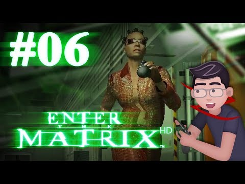 Enter the Matrix HD - Let's Play #06 - Grenades in a Nuclear Plant are totally safe