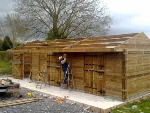 the heritage range timber stables and garages how to