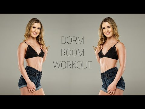 Dorm Room Workout | No Equipment Needed