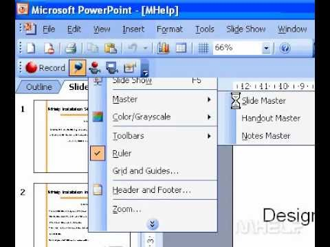 Microsoft Office PowerPoint 2003 Change the bullet style in a list