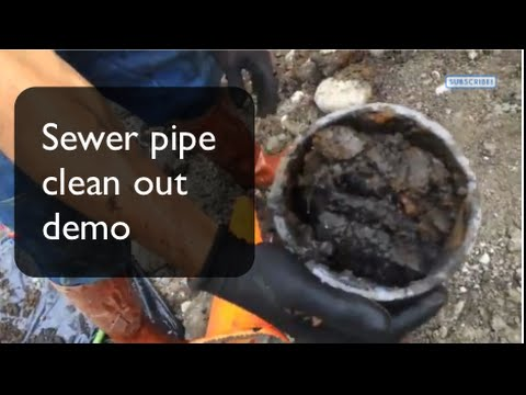 Sewer Backup and Basement Flooding - Side Sewer Cleanup Demo, Best Plumbing, Seattle,(206) 633-1700