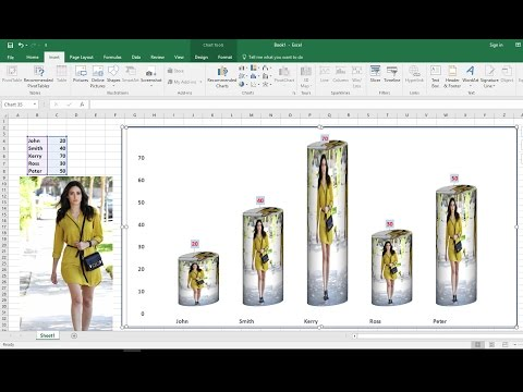 How to Add Pictures in Excel Chart/Graph (Easy)
