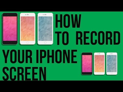 How To Screen Record iOS 8 / 8.1 iPhone, iPad & iPod Touch WITHOUT JAILBREAK