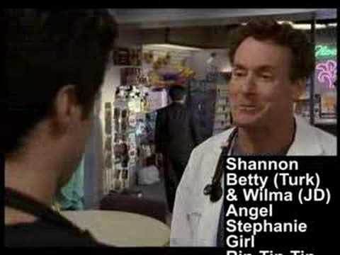 Scrubs - Every Girls Name to J.D. from Dr. Cox (Seasons 1-3)