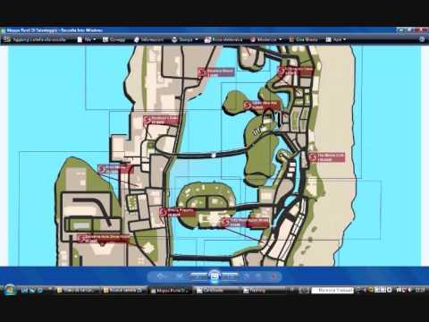 Mappa Punti Di Salvataggio GTA Vice City