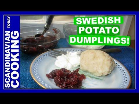 How To Make Traditional Swedish Potato Dumplings ♥  Kroppkaka  🍴
