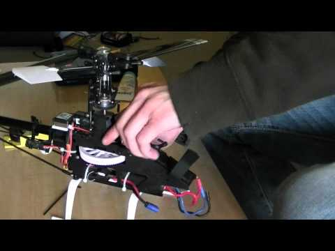E-flite Blade 450 - Upgrades and test 3D flight