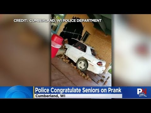 High School Students' Prank Got Recognition From The Police