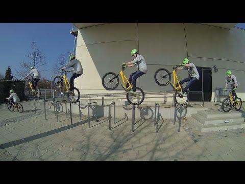 Lukas Spindler - Street trial 2014 Inspired Bicycles