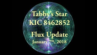 Tabby's Star KIC 8462852 Flux Update for January 7, 2018