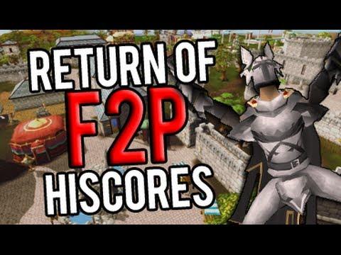 Runescape - F2P Hiscores will return!