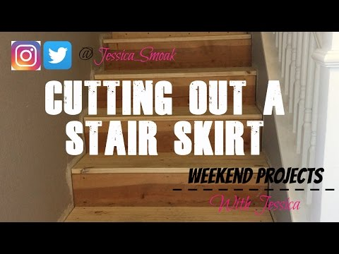 Weekend Projects with Jessica - Stair Skirt