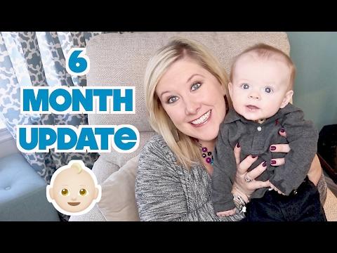 👶🏼 6 MONTH BABY BROOKS UPDATE! 😬 Sleep Regression, Separation Anxiety, & Teething