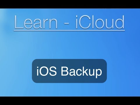 iCloud Tutorial: iPhone and iPad Backup