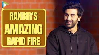 Ranbir Kapoor's MEMORABLE Rapid Fire On Aamir Khan, Ranveer Singh, Disha Patani