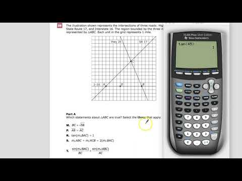 Question 28 - Part A - Geometry - TNReady Practice Test