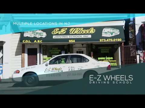 Ezwheels Driving School NJ - Truck Driver's Life and CDL Training video