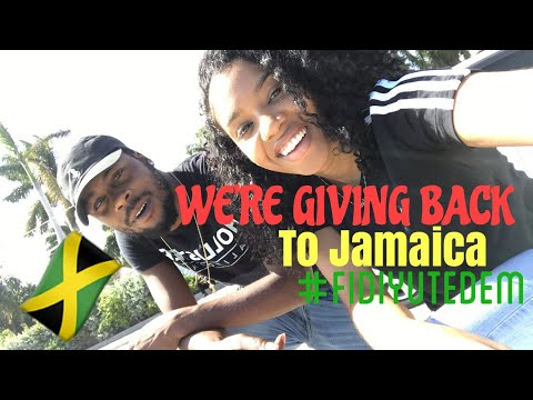 Giving Back To Jamaica 🇯🇲 🙏🏾| Part 2