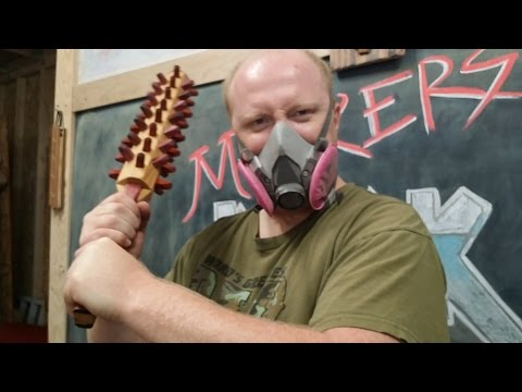 Zombie Weapon Challenge - Making a Spiked Bat