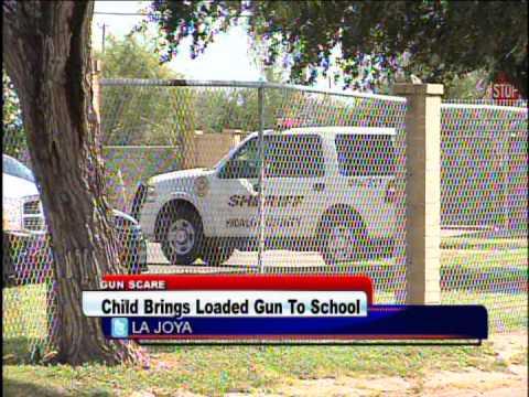 Child Brings Loaded Gun To School