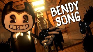 """Minecraft Song ♪ """"BENDY AND THE INK MACHINE SONG"""" - Music Video! (Minecraft Animation)"""