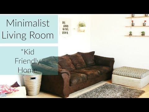 Minimalist Living Room Decor Ideas Using Feng Shui (Family of 4 - Living Room +Tour)