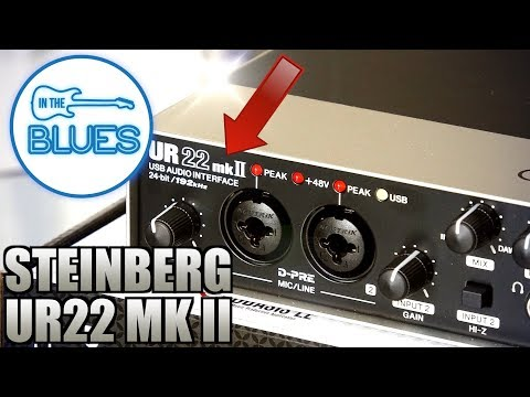 Steinberg UR22 MKII USB Audio Interface - Setup & Audio Test