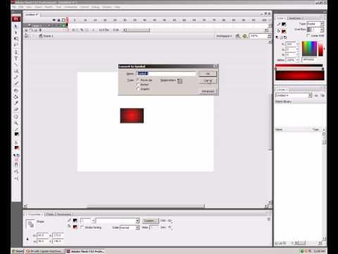 Adobe flash cs3 professionsal tutorial: How To Make An Animation