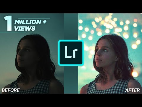 Lightroom CC Mobile Tutorial : Edit your portrait FAST 🚀 #1