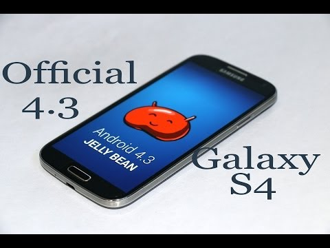 How to install Official Android 4.3 on Galaxy S4 (I9500)