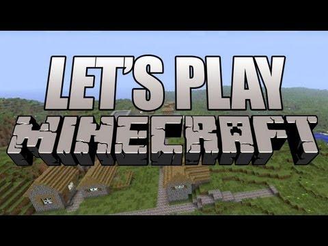 Minecraft Xbox Update - Let's Play Minecraft Creative Mode - Flying, Villages, Endermen