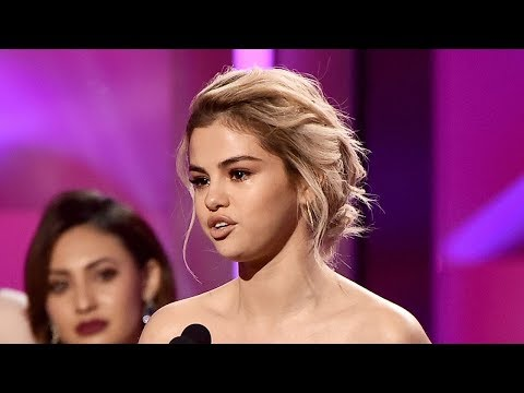 Selena Gomez SOBS While She Accepts Billboard Woman Of The Year Award