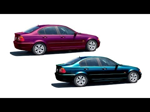 Adobe Photoshop Tutorial: Changing a Car's Color