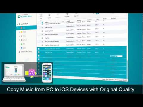 Wondershare Tunesgo Retro -Transfer music playlists videos from iPod iPhone iPad