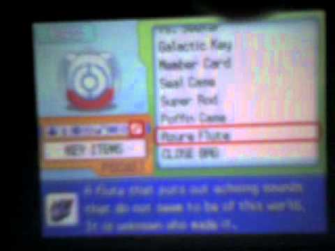 How to get Arceus on Pokemon Platinum AR Cheat-Part 1