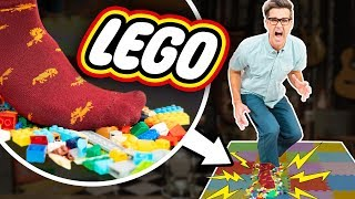 Worst Toys To Step On (TEST)