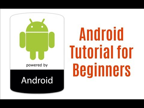 Android Tutorial in One Video