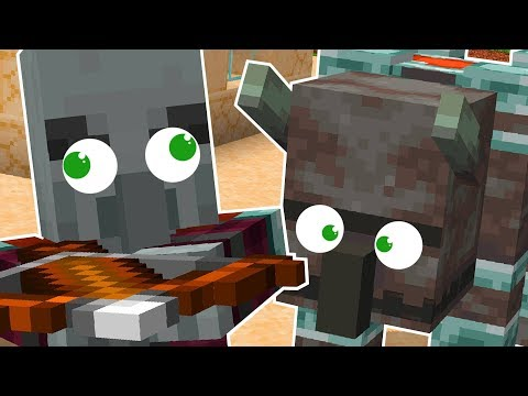 NEW Pillager and Illager BEAST in Minecraft!