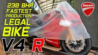 Unboxing & Delivery of DUCATI V4-R worth Rs-1.20cr (1st in INDIA)