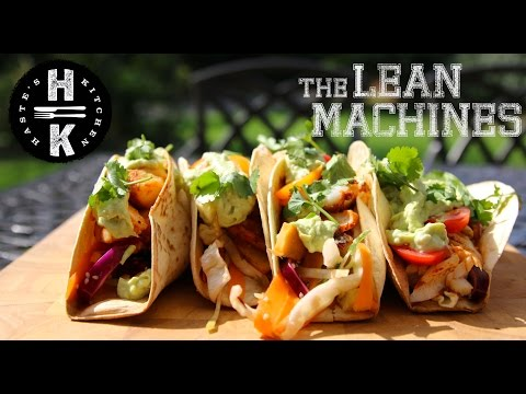 Blackened Fish Tacos with The Lean Machines