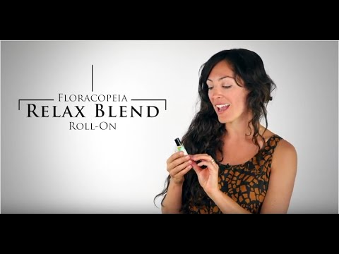 Floracopeia's Relax Essential Oil Blend Roll-On