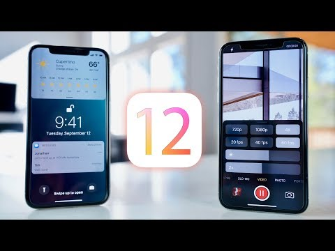 iOS 12 - Top 50 Features Wishlist