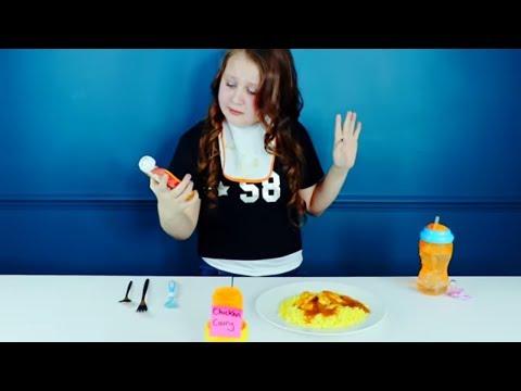 BABY FOOD VS REAL FOOD CHALLENGE!!