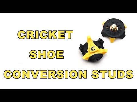 Cricket Shoe Conversion Studs